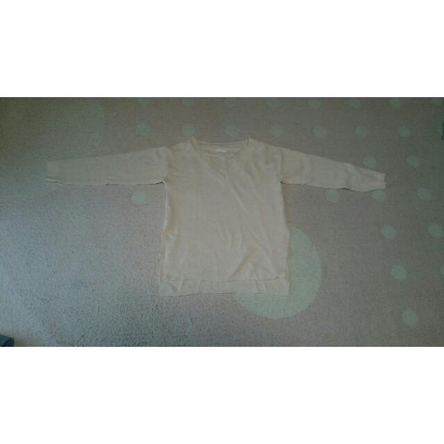 GU(ジーユー)の新品未使用 ジーユー Vネックスリットチュニック レディースのトップス(Tシャツ(長袖/七分))の商品写真
