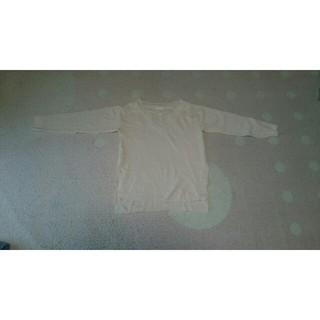 ジーユー(GU)の新品未使用 ジーユー Vネックスリットチュニック(Tシャツ(長袖/七分))