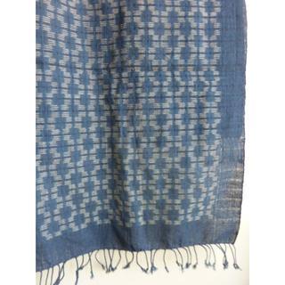 手織り、藍染 布(その他)