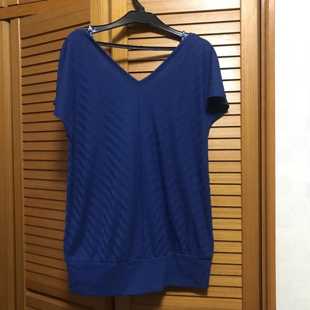 ZAZIE(ザジ)のザジ 2WAY カットソー Mサイズ レディースのトップス(カットソー(半袖/袖なし))の商品写真