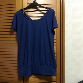 ザジ(ZAZIE)のザジ 2WAY カットソー Mサイズ(カットソー(半袖/袖なし))