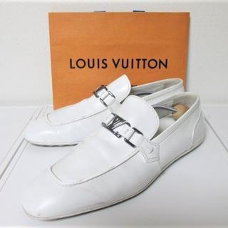 ルイヴィトン(LOUIS VUITTON)の☆ルイヴィトン ドライビングシューズ スニーカー/メンズ/27cm(スリッポン/モカシン)