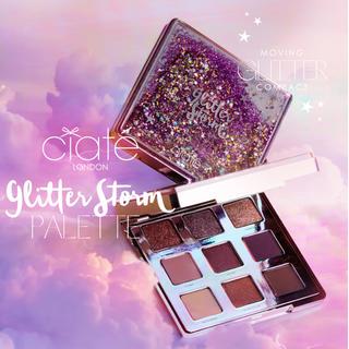 シアテ(ciate)のCiate London Glitter Storm アイシャドウパレット(アイシャドウ)