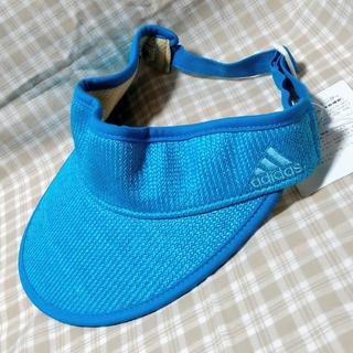 アディダス(adidas)のアディダス adidas ゴルフ ハイクラウン サンバイザー レディース ブルー(その他)