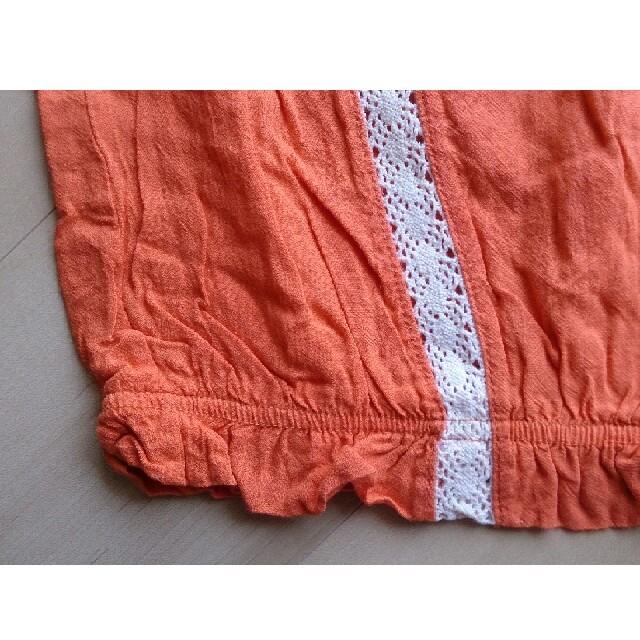 しまむら(シマムラ)のヴィンテージ オレンジ トップス レディースのトップス(カットソー(半袖/袖なし))の商品写真