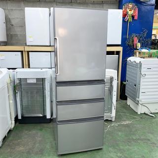 ハイアール(Haier)の⭐︎AQUA⭐︎冷凍冷蔵庫 2017年 355L 美品 大阪市近郊配送無料(冷蔵庫)