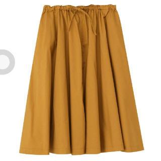 ムジルシリョウヒン(MUJI (無印良品))の無印良品 ギャザースカート(ひざ丈スカート)