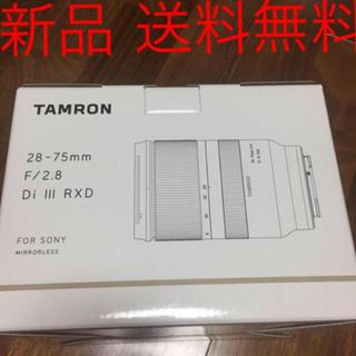タムロン(TAMRON)のTAMRON 28-75mm F2.8 Di III RXD ソニーEマウント(レンズ(ズーム))