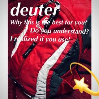 ドイター(Deuter)の♦️【DUETER】実用性たる最高峰☆‼️リュック バックパック スポーツ(バッグパック/リュック)