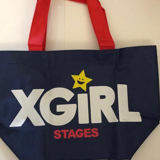 エックスガールステージス(X-girl Stages)の新品 未使用 X-girl バッグ(トートバッグ)