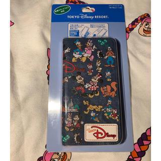 ディズニー(Disney)のチームディズニー スマート フォン ケース(モバイルケース/カバー)