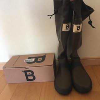 バードウオッチング長靴 Mサイズ ブラウン(レインブーツ/長靴)