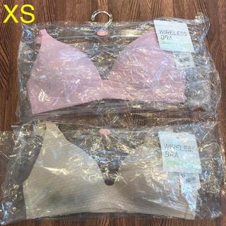ユニクロ(UNIQLO)の売り切りSALE☆ユニクロ ワイヤレスブラ ビューティーライト XS(ブラ)