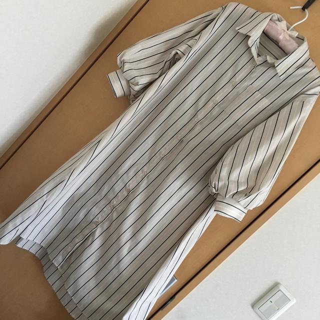 しまむら(シマムラ)のシャツワンピース レディースのワンピース(ロングワンピース/マキシワンピース)の商品写真