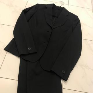 ユニクロ(UNIQLO)の最終お値下げスーツ  UNIQLO sizeL 美品黒(スーツ)