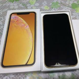 アイフォーン(iPhone)の[りーちゃ様専用]iPhoneXR 64GB イエロー[未使用品](スマートフォン本体)