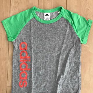 アディダス(adidas)の子ども用 アディダス  半袖Tシャツ 女の子(Tシャツ/カットソー)
