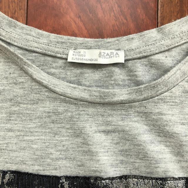 ZARA(ザラ)のトップス レディースのトップス(Tシャツ(半袖/袖なし))の商品写真