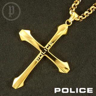 ポリス(POLICE)の【美品】POLICE ポリス SAINT ネックレス(ネックレス)
