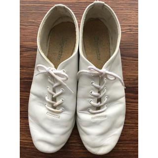 レペット(repetto)のrepetto ジャズ 白 38(ローファー/革靴)