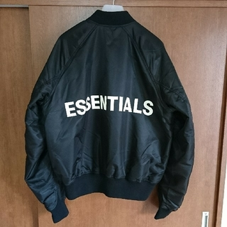 FEAR OF GOD - ESSENTIALS ボンバージャケット ma1