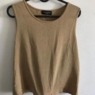 ジーヴィジーヴィ(G.V.G.V.)のgold トップス(Tシャツ(半袖/袖なし))