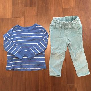 1afbb8641d01f GAP - 子供服 女の子 80サイズ GAP 長袖 2点セットの通販 by らむ s shop ...