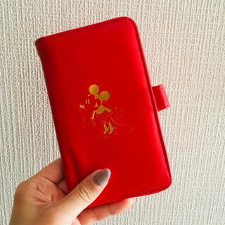 ディズニー(Disney)の手帳型スマホケース(モバイルケース/カバー)