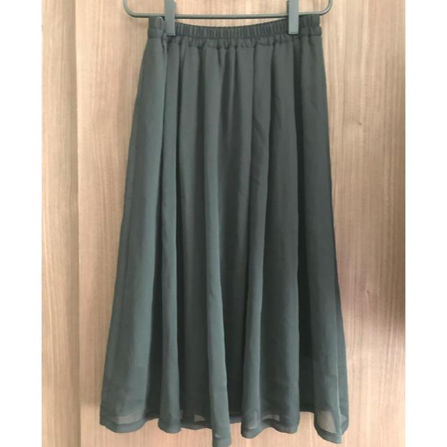 しまむら(シマムラ)のしまむら シフォンスカート レディースのスカート(ロングスカート)の商品写真