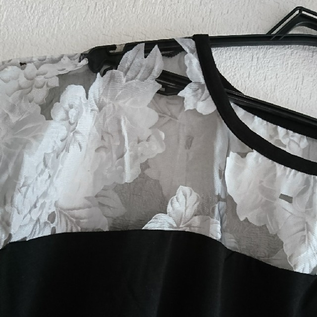 新品 花柄 トップス セシルマクビー イング リエンダ リゼクシー ダチュラ レディースのトップス(カットソー(半袖/袖なし))の商品写真
