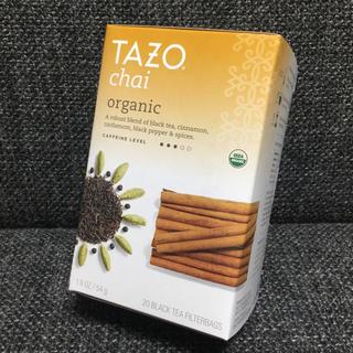 TAZO tea★タゾティー★チャイ オーガニック★紅茶★スタバ(茶)