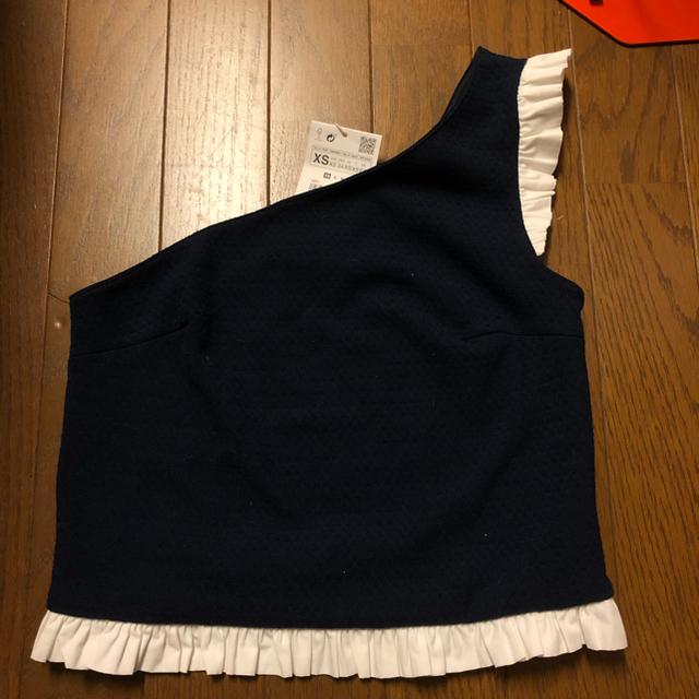 ZARA(ザラ)のZARA オフショルダー フレア トップス レディースのトップス(シャツ/ブラウス(半袖/袖なし))の商品写真