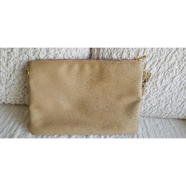 しまむら(シマムラ)のしまむら クラッチバック レインボー柄 レディースのバッグ(クラッチバッグ)の商品写真