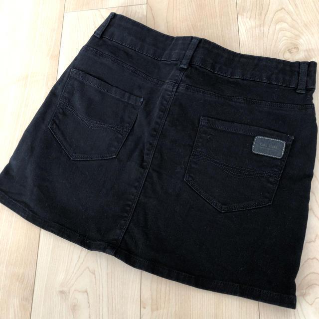 ZARA(ザラ)のZara Girls ミニスカート 黒 152センチ キッズ/ベビー/マタニティのキッズ服 女の子用(90cm~)(スカート)の商品写真
