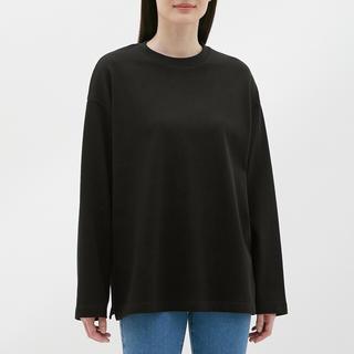 ジーユー(GU)のヘビーウェイトロングスリーブT(長袖)  GU(Tシャツ(長袖/七分))
