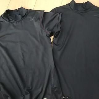 ナイキ(NIKE)のNIKE アンダーシャツ 140 M 紺(ウェア)