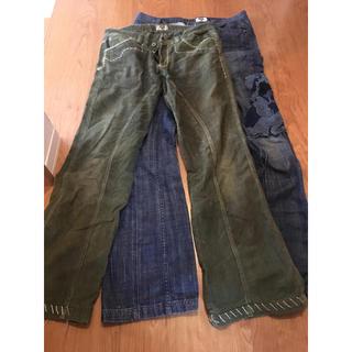 アンティークデニム(ANTIK DENIM)のデニム メンズ Antikdenim 31インチ緑と、32インチ青(デニム/ジーンズ)