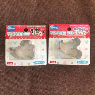 ディズニー(Disney)の新品 ミッキー ミニー 抜き型 型抜き(調理道具/製菓道具)