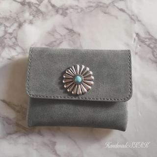 M88様専用 Handmade*コンチョコインケース カードケース(財布)