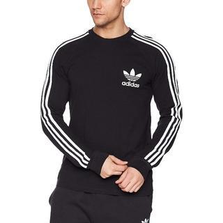 アディダス(adidas)のアディダスオリジナルス 3ストライプ 長袖シャツ ピケ USサイズM(Tシャツ/カットソー(七分/長袖))