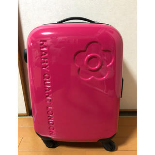 マリークワント(MARY QUANT)のマリークワント  キャリーバッグ(スーツケース/キャリーバッグ)
