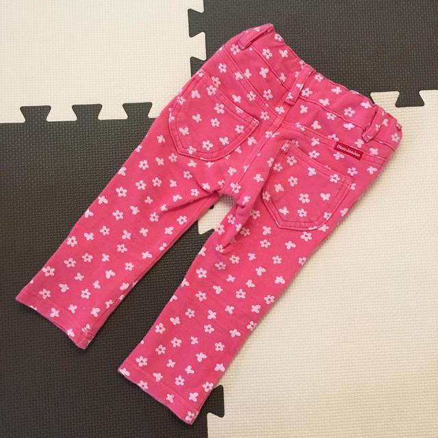 mou jon jon(ムージョンジョン)のムージョンジョン パンツ 80センチ キッズ/ベビー/マタニティのベビー服(~85cm)(パンツ)の商品写真
