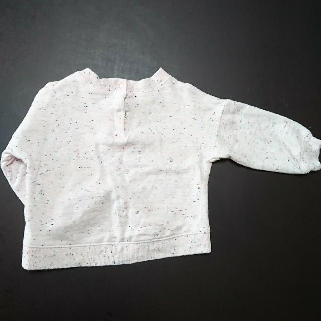 トップス トレーナー 80 キッズ/ベビー/マタニティのベビー服(~85cm)(シャツ/カットソー)の商品写真