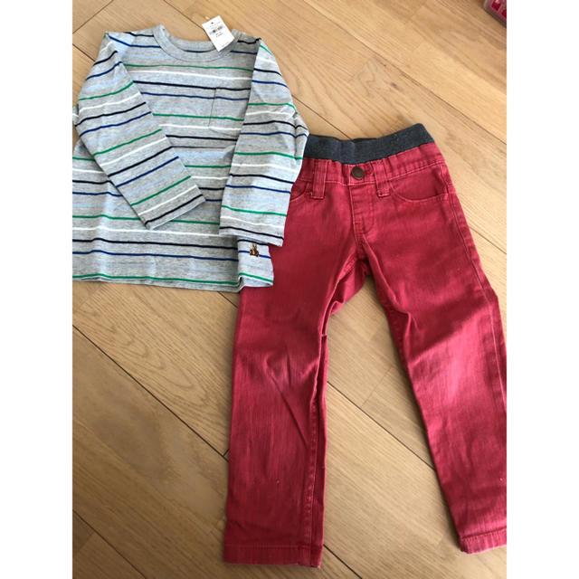 babyGAP(ベビーギャップ)のGAPトップス キッズ/ベビー/マタニティのキッズ服 男の子用(90cm~)(Tシャツ/カットソー)の商品写真