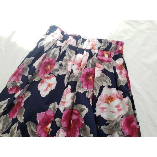 しまむら(シマムラ)のスカート 花柄 フラワー レディース 春服 ZARA  にありそうなデザイン♪ レディースのスカート(ひざ丈スカート)の商品写真