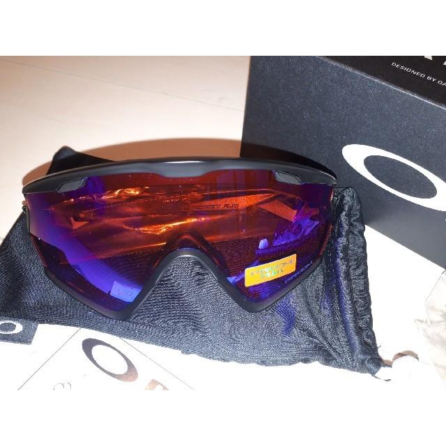 Oakley(オークリー)のオークリー ウィンドジャケット2.0 プリズムレンズ OAKLEY サングラス  スポーツ/アウトドアの自転車(ウエア)の商品写真