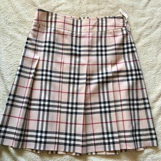バーバリー(BURBERRY)のBurberry チェック柄スカート(ひざ丈スカート)