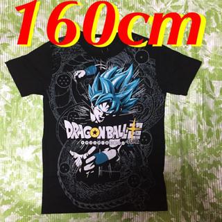 ドラゴンボール(ドラゴンボール)の160cm★ドラゴンボール超 男児用半袖Tシャツ (ブラック/黒)(Tシャツ/カットソー)