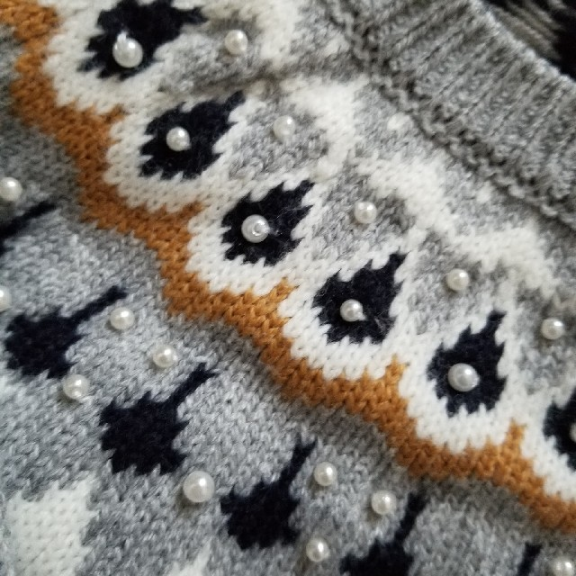 しまむら(シマムラ)のノルディック ニット レディースのトップス(ニット/セーター)の商品写真