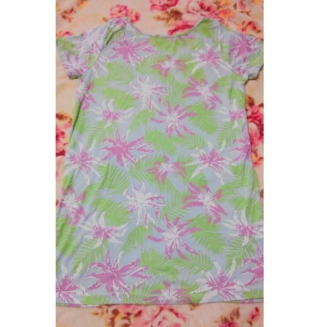しまむら(シマムラ)の花柄☆半袖Tシャツ レディースのトップス(Tシャツ(半袖/袖なし))の商品写真
